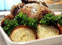 Kurczak faszerowany w�tr�bk� - ugotuj