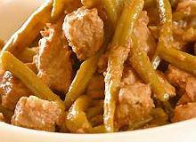 Gulasz z fasolką szparagową - ugotuj