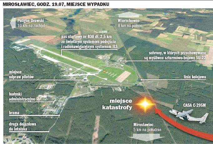 Miroslawiec Poland  City pictures : Thread: Casa C 295M crashed in Poland