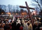 Warszawiacy poszli w drogach krzyżowych