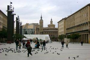 Saragossa. Delicje z widokiem na Expo