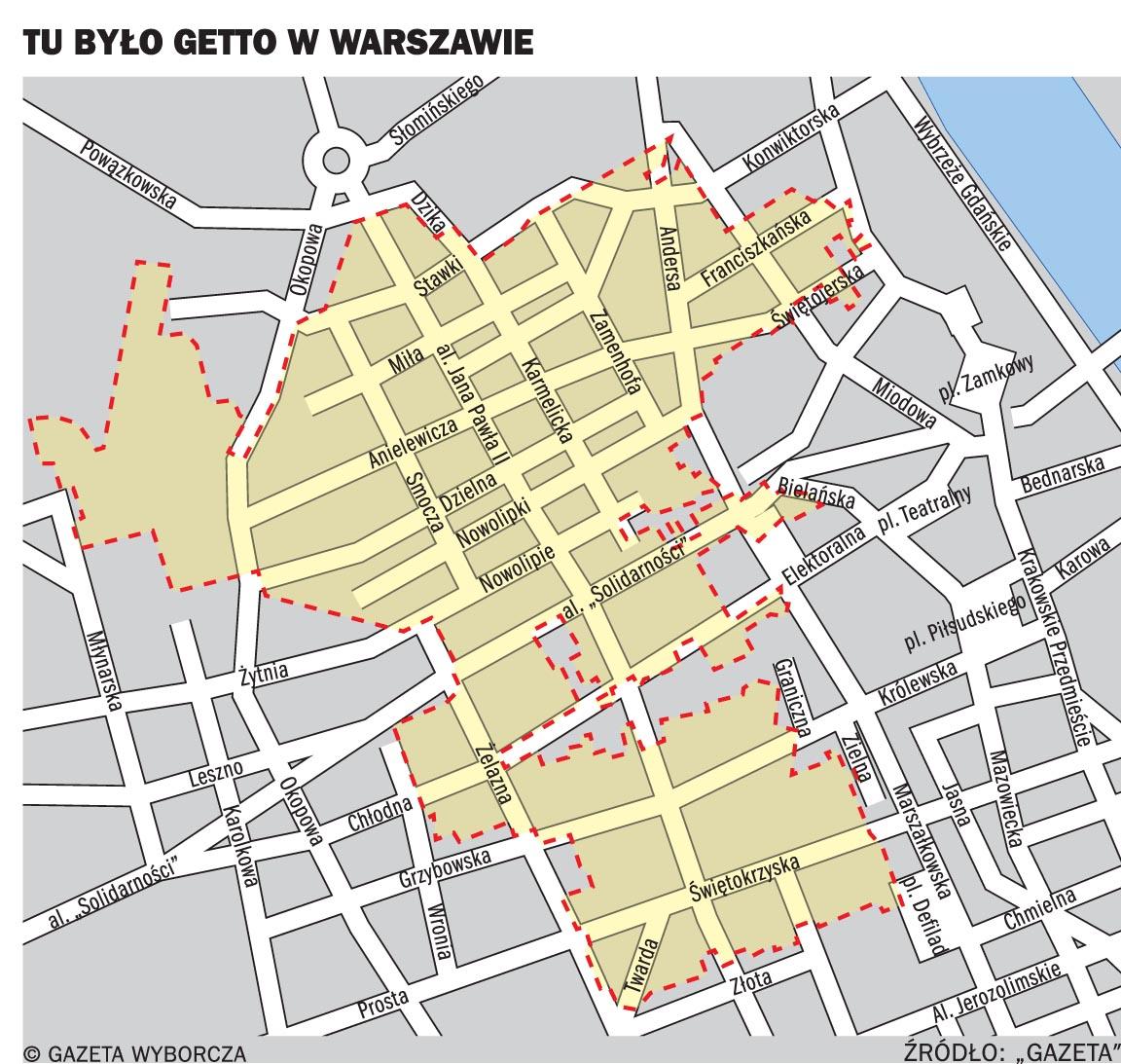 onde posso encontrar um mapa de localizacao do gueto de varsovia a  - onde posso encontrar um mapa de localizacao do gueto de varsovia a cidadehoje  viagem