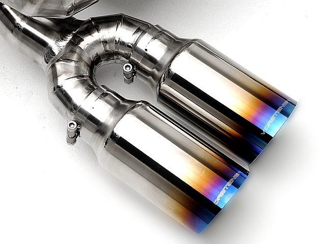 Dedykowany układ wydechowy wykonany z tytanu
