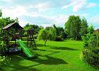 Aran�acje ogrod�w: ogr�d z miejscem dla dzieci
