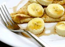 Naleśniki z bananami i twarożkiem - ugotuj