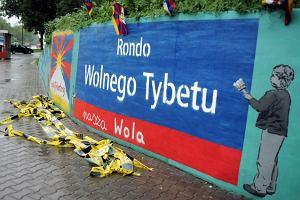 """Jest rondo - Tybetu, ale nie """"wolnego"""""""