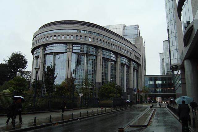 Budynek Parlamentu Europejskiego