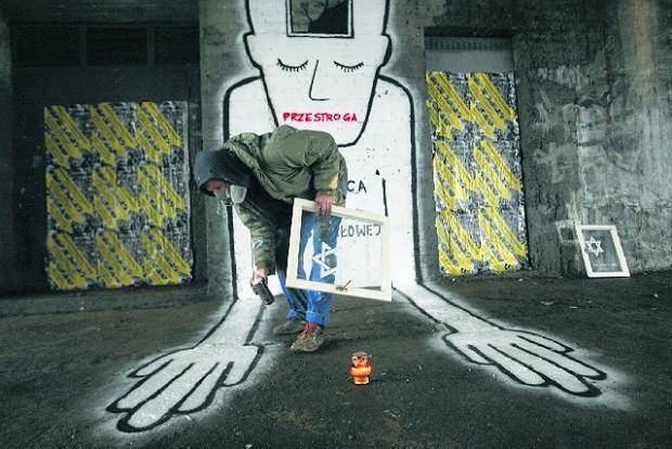 Nowy mural na saskiej k pie przeciw faszyzmowi for Mural ursynow