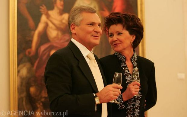 Jolanta Kwa�niewska i Aleksander Kwa�niewski/AG