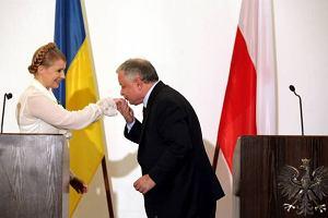 Tymoszenko wyl�dowa�a na krakowskim lotnisku Balice