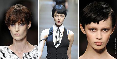 20 Trendów Fryzjerskich Z Wybiegów 2010 Roku Podsumowanie