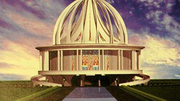 Jedna z pierwszych wizualizacji kościoła o. Rydzyka