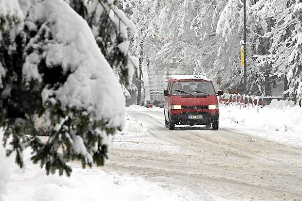 Powr�t zimy w Zakopanem, kwiecie� 2010