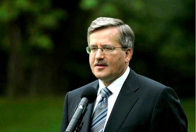 Marszałek Bronisław Komorowski