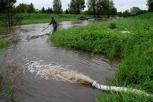 IMiGW: Burze i deszcze zn�w gro�� gwa�townym wzrostem poziomu rzek