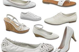 35733132 Poniżej 70 zł - białe buty Deichmann