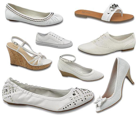 Poni�ej 70 z� - Bia�e buty Deichmann