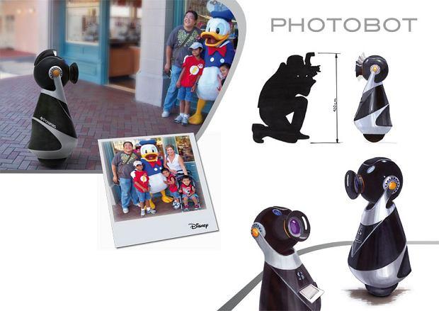 Zdjęcie numer 4 w galerii - Robot jeżdżący na kuli - stylowo i z elegancją
