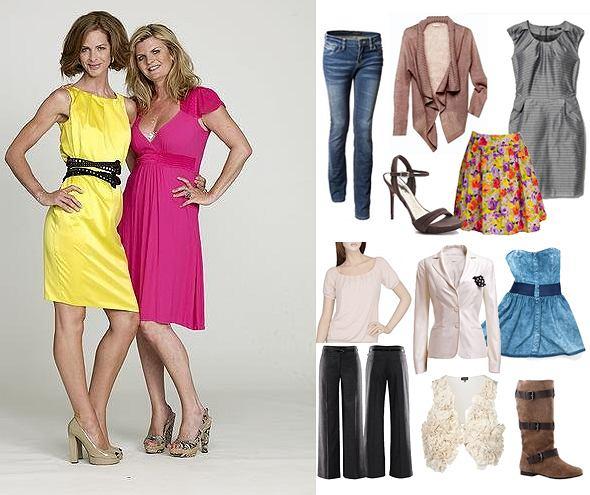 12 figur i 12 sylwetek Trinny i Susannah - jak ubierać się według zasad stylistek