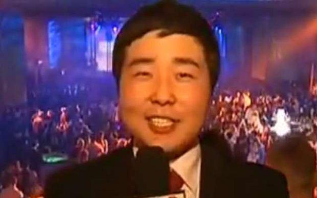 Bilguun Ariunbaatar �artuje z polskich celebryt�w