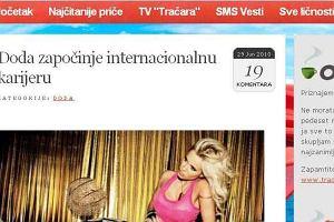 Chorwacki portal plotkarski pisze o Dodzie
