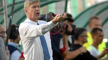 Legia - Arsenal, Arsene Wenger
