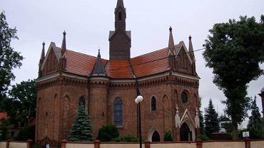 Konin, kościół św. Andrzeja Apostoła z XV w.