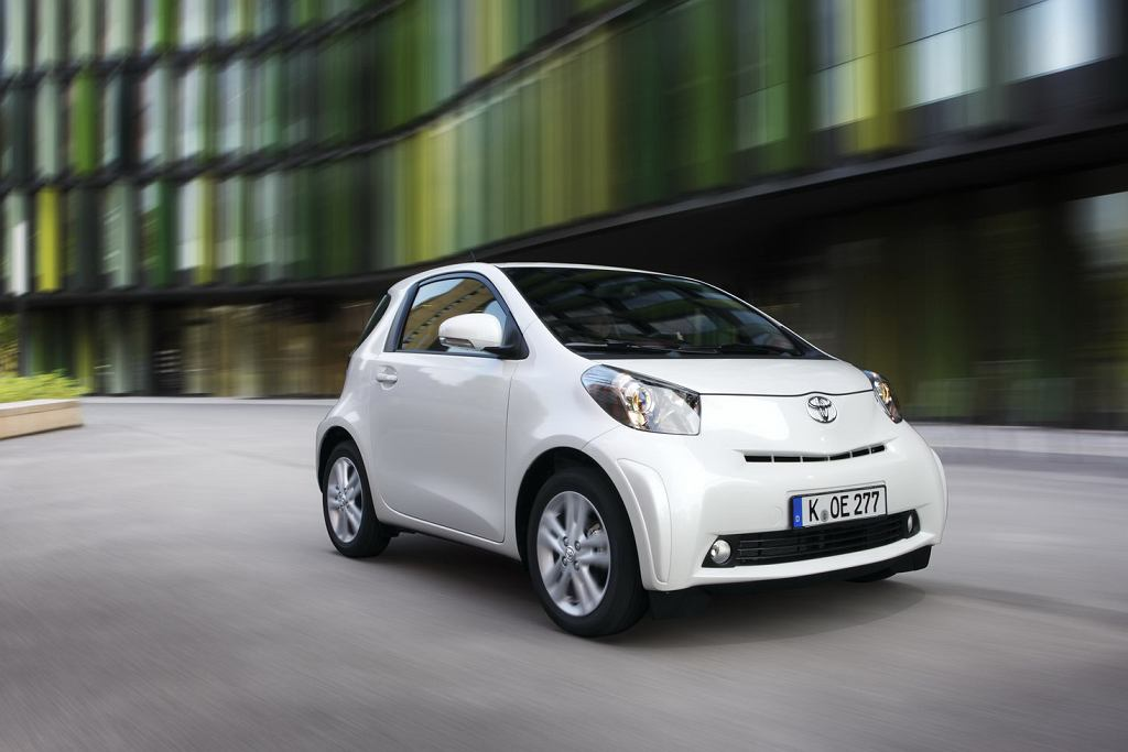 Toyota iQ 2010 face-lifting