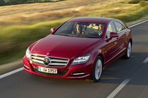 Mercedes CLS w pe�nej krasie | Galeria