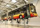 Nowy kolor sto�ecznych autobus�w: pomidorowa czerwie�