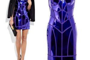 Fokus na sukienk� Versace