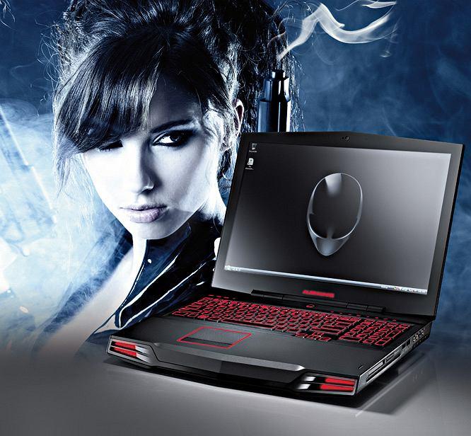 Notebook Dell Alienware M17x