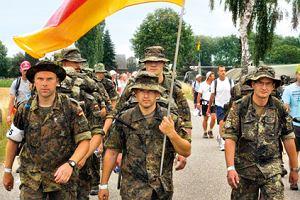 Niemiecka armia będzie przyjmować cudzoziemców