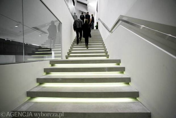 16.11.2010 KRAKOW , UROCZYSTOSC ODDANIA BUDYNKU MUZEUM SZTUKI WSPOLCZESNEJ .
