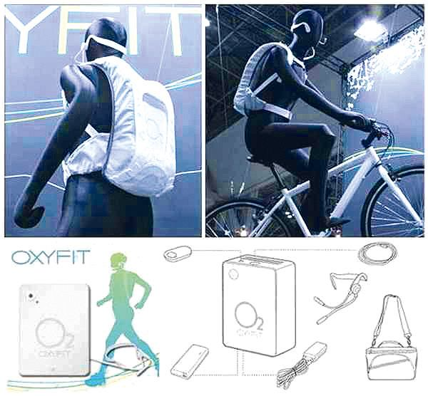 Oxyfit - worek z tlenem