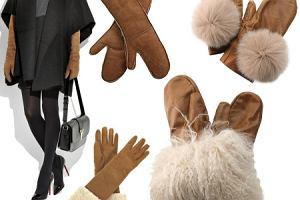 Karmelowe rękawiczki - najmodniejsze!