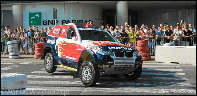 Krzysztof Hołowczyc w Rajdzie Dakar pojedzie BMW X3