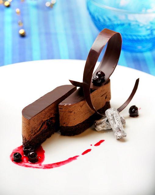 Czekoladowy deser autorstwa Bożeny Sikoń