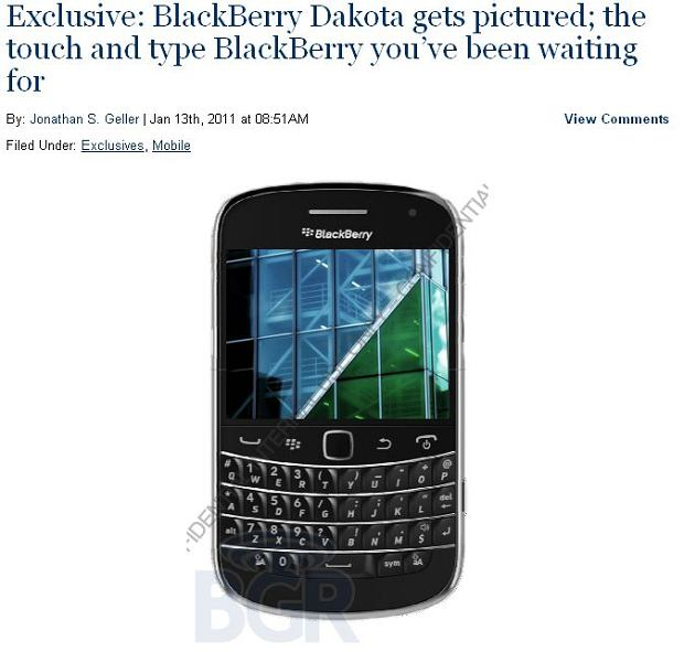 BlackBerry Dakota