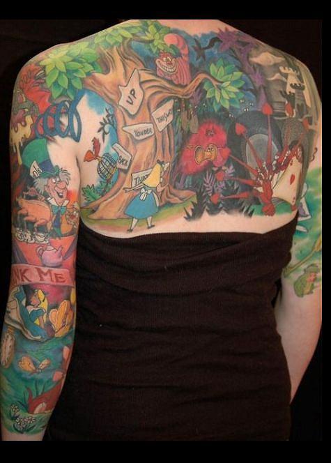 Tatuaże Jak Daleko Sięga Ludzka Fantazja