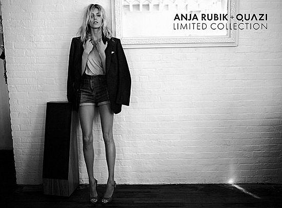 Zdjęcie numer 3 w galerii - Anja Rubik znowu reklamuje Quazi