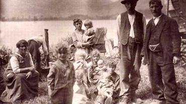 Rodzina Jeniszów, Szwajcaria 1928 r.
