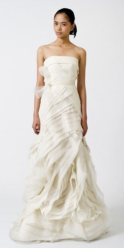 a9b782493b suknia ślubna Vera Wang - kolekcja wiosna lato 2011