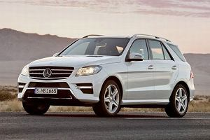 Nowy Mercedes ML z bliska