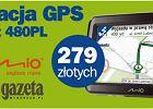 Nawigacja GPS MIO Spirit 480 PL z najnowsz� map� Polski!