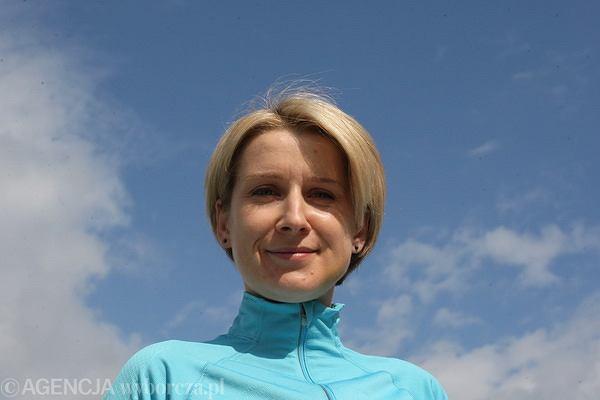 Magdalena Wójtowicz pobiegnie maraton w Warszawie