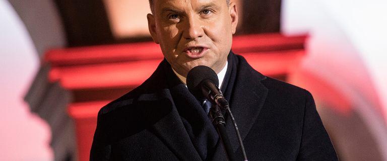 Prezydent Duda na Węgrzech. Zabrał głos w sprawie ostatniej ofensywy PiS
