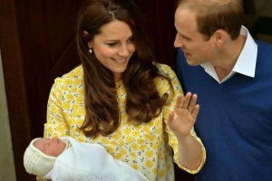 Księżna Kate, Książę Wiliam i księżniczka Charlotte