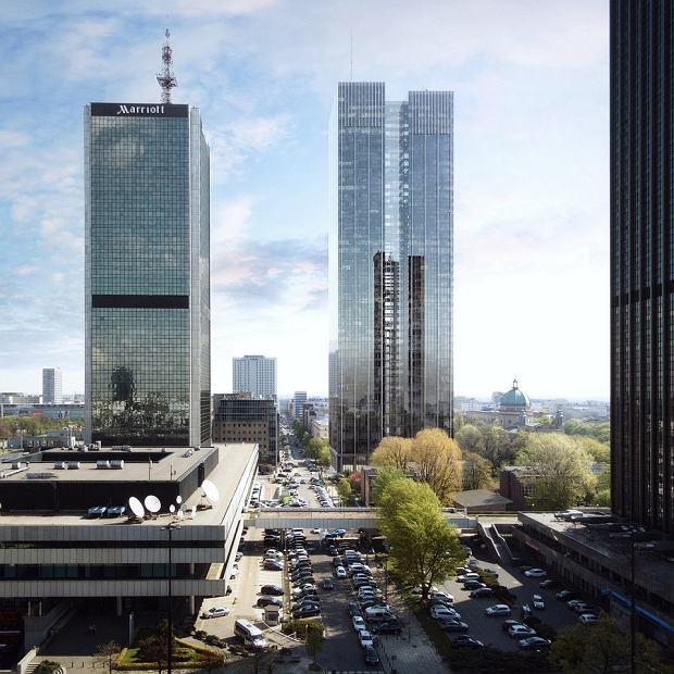 Wizualizacja inwestycji Roma Tower