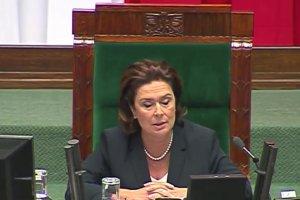 Pose� okupowa� m�wnic�. Awantura podczas ostatniego posiedzenia Sejmu tej kadencji